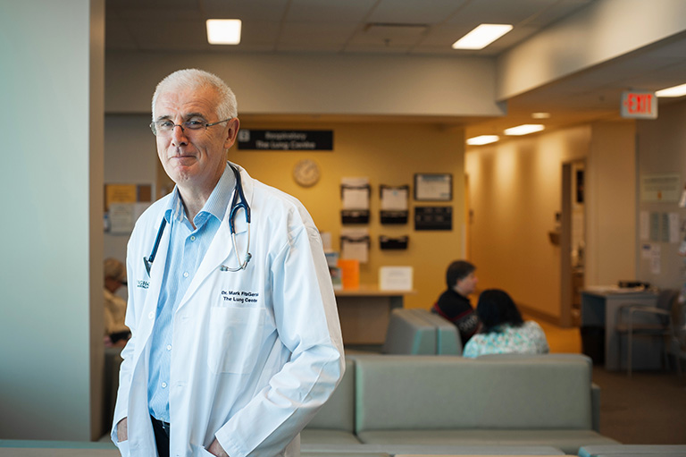 Dr. Mark FitzGerald Credit: Martin Dee